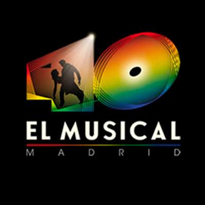 Cartel de 40 El Musical en Madrid