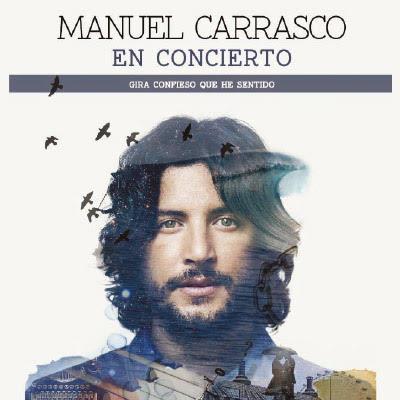 Cartel de la gira Confieso que he sentido de Manuel Carrasco