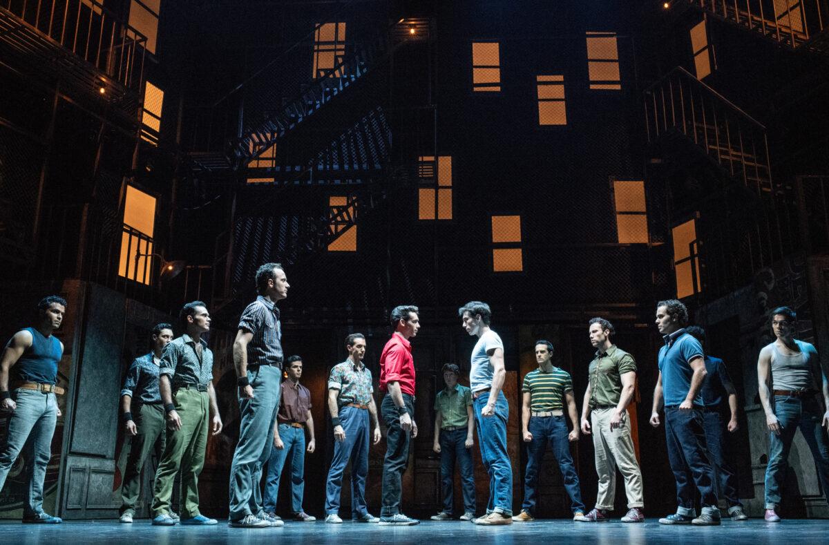 El malagueño de las once caras en 'West Side Story'