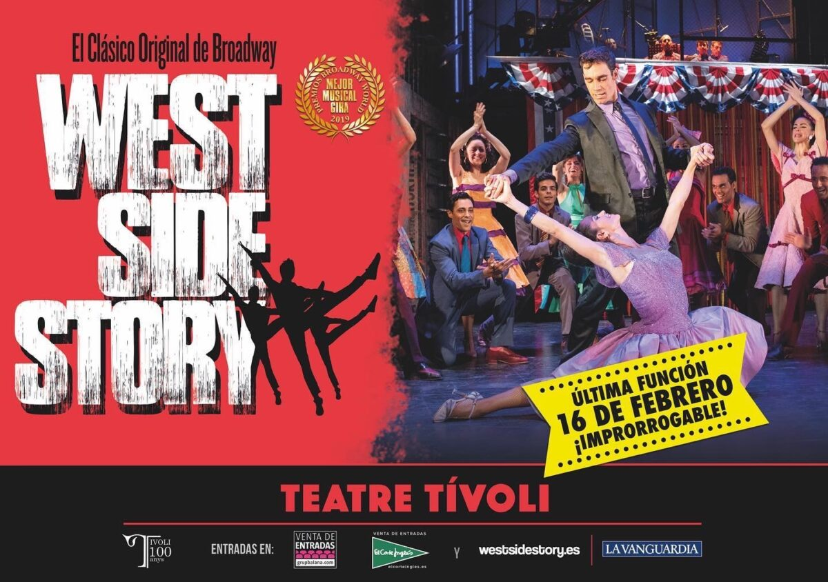 West Side Story se despide de Barcelona