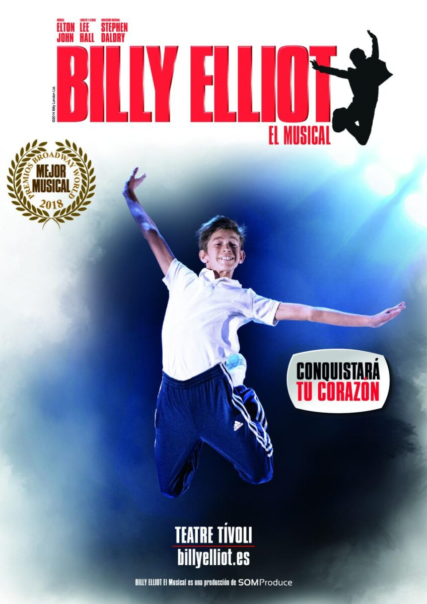 Billy Elliot llega a Barcelona