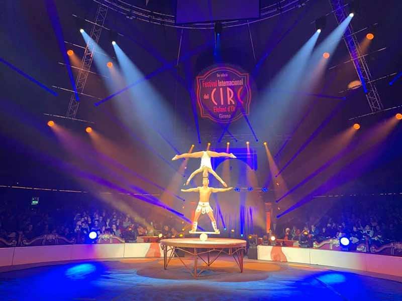 Gran Éxito en el Festival Internacional del Circ Elefant d'Or