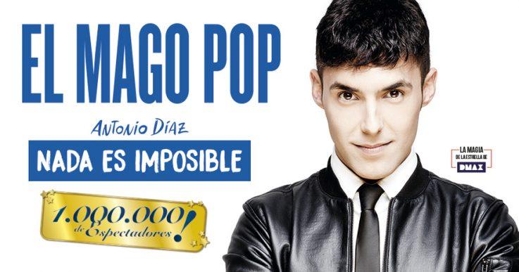 El Mago Pop: campaña espectacular para un espectáculo mágico