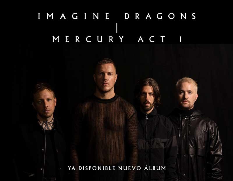 Cartel anuncio nuevo disco de Imagine Dragons
